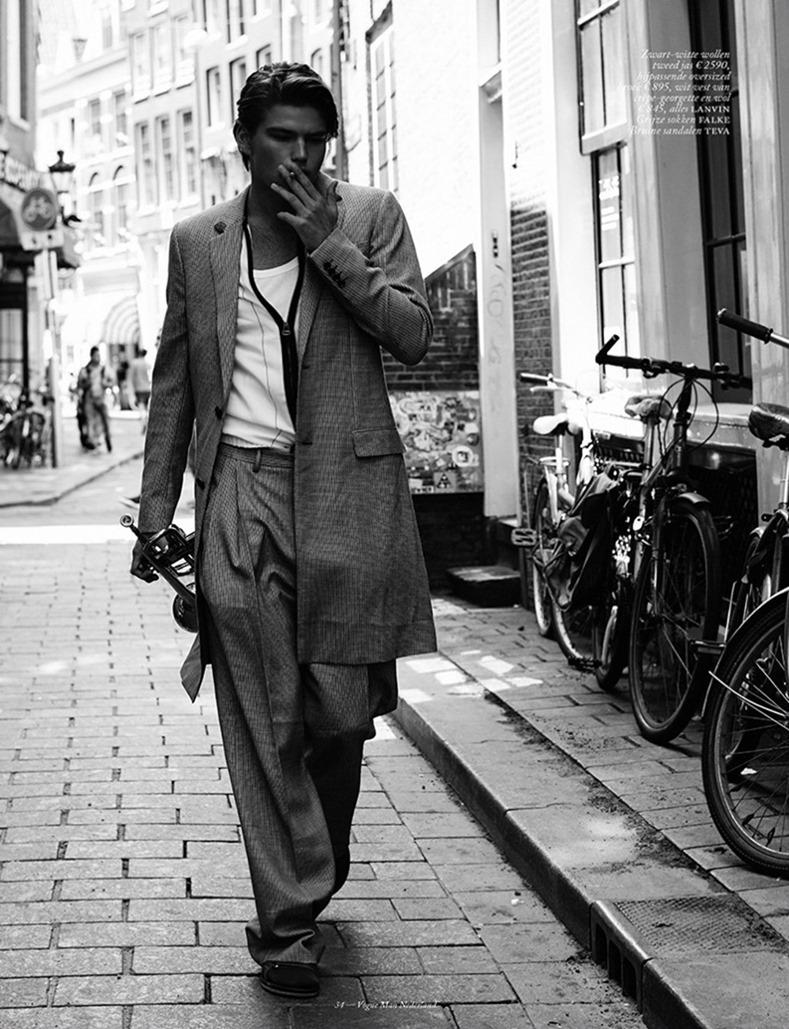 VOGUE MAN NETHERLANDS Jordan Barrett by Paul Bellaart. Martien Mellema, Fall 2016, www.imageamplified.com, Image Amplified (7)