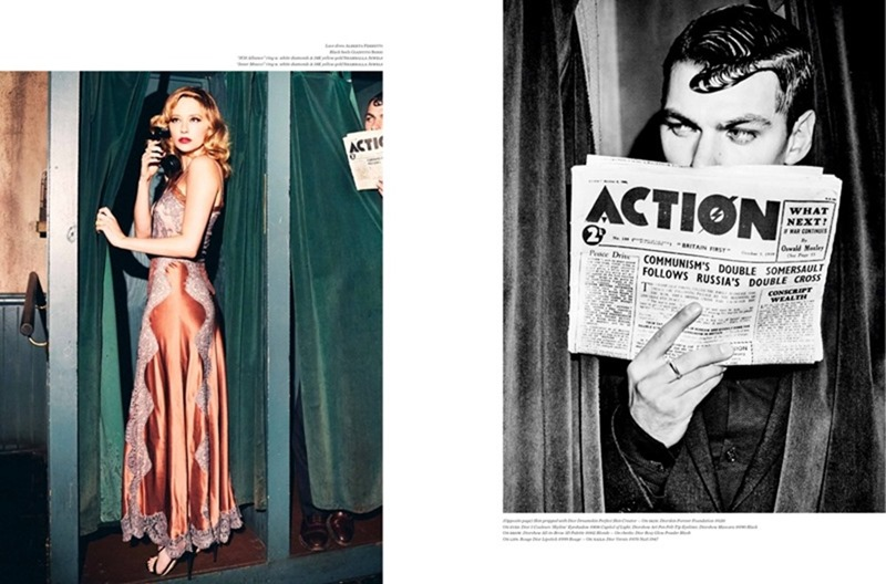 VS. MAGAZINE Haley Bennett by Ellen von Unworthy. Jaime Kay Waxman, Fall 2016, www.imageamplified.com, Image Amplified10