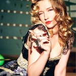VS. MAGAZINE: Haley Bennett by Ellen von Unworth