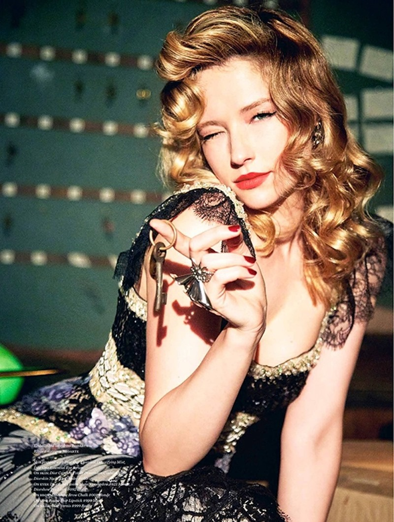 VS. MAGAZINE Haley Bennett by Ellen von Unworthy. Jaime Kay Waxman, Fall 2016, www.imageamplified.com, Image Amplified9