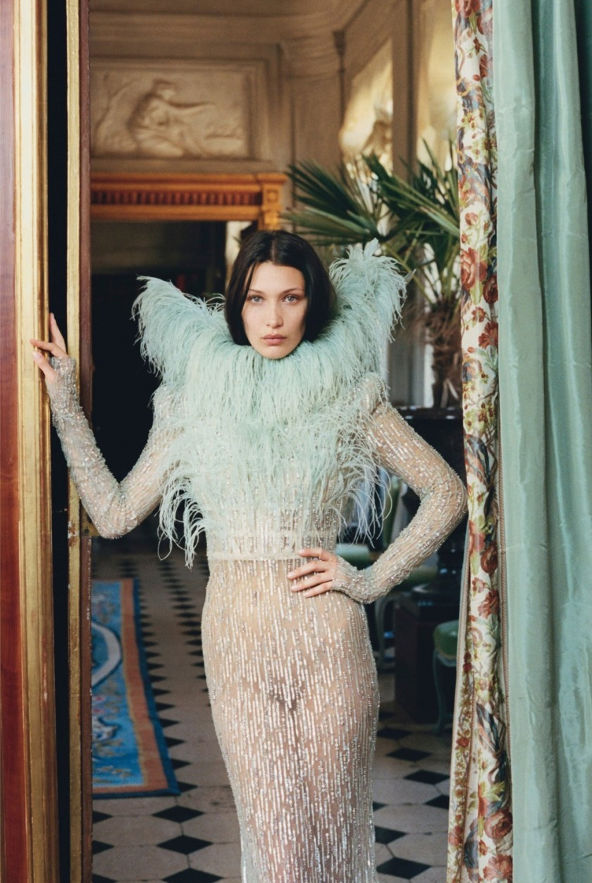 W MAGAZINE Bella Hadid by Venetia Scott. Edward Enninful, October 2016, www.imageamplified.com, Image Amplified9