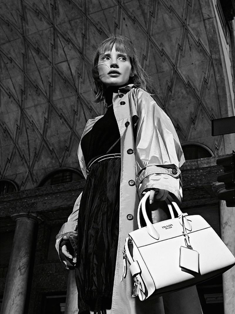 CAMPAIGN Jessica Chastain for Prada Resort 2017 by Willy Vanderperre. www.imageamplified.com, Image Amplified (4)