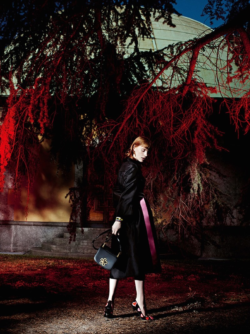 CAMPAIGN Jessica Chastain for Prada Resort 2017 by Willy Vanderperre. www.imageamplified.com, Image Amplified (8)