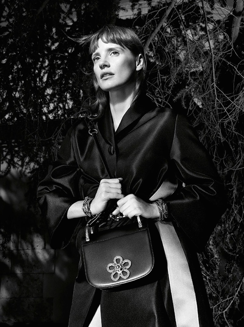CAMPAIGN Jessica Chastain for Prada Resort 2017 by Willy Vanderperre. www.imageamplified.com, Image Amplified (9)