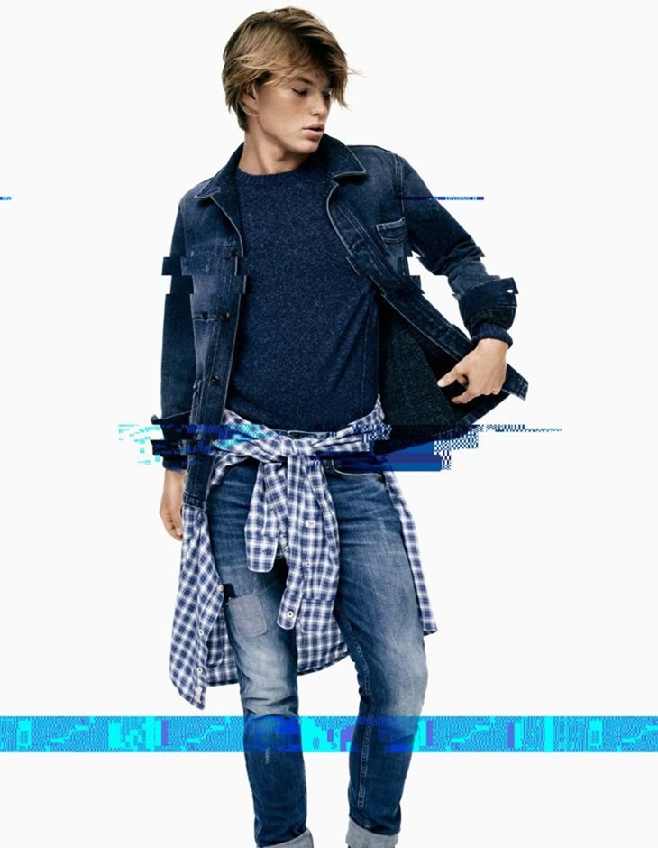CAMPAIGN Jordan Barrett for Pepe Jeans Fall 2016 by Scott Trindle. www.imageamplified.com, Image Amplified (12)