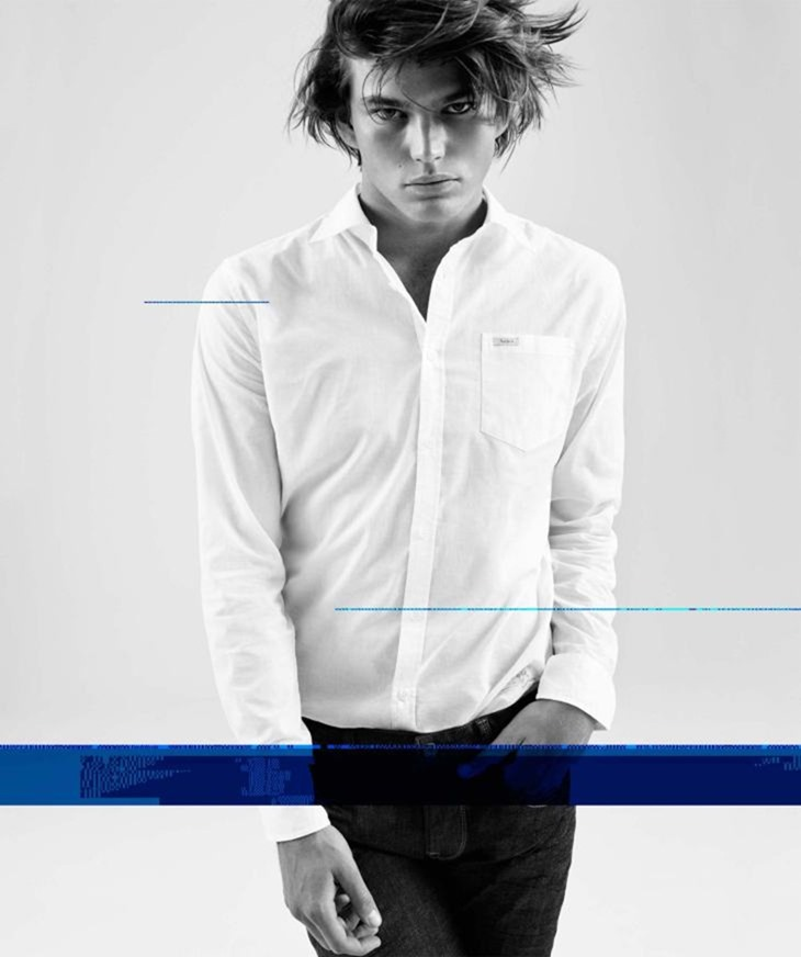 CAMPAIGN Jordan Barrett for Pepe Jeans Fall 2016 by Scott Trindle. www.imageamplified.com, Image Amplified (9)