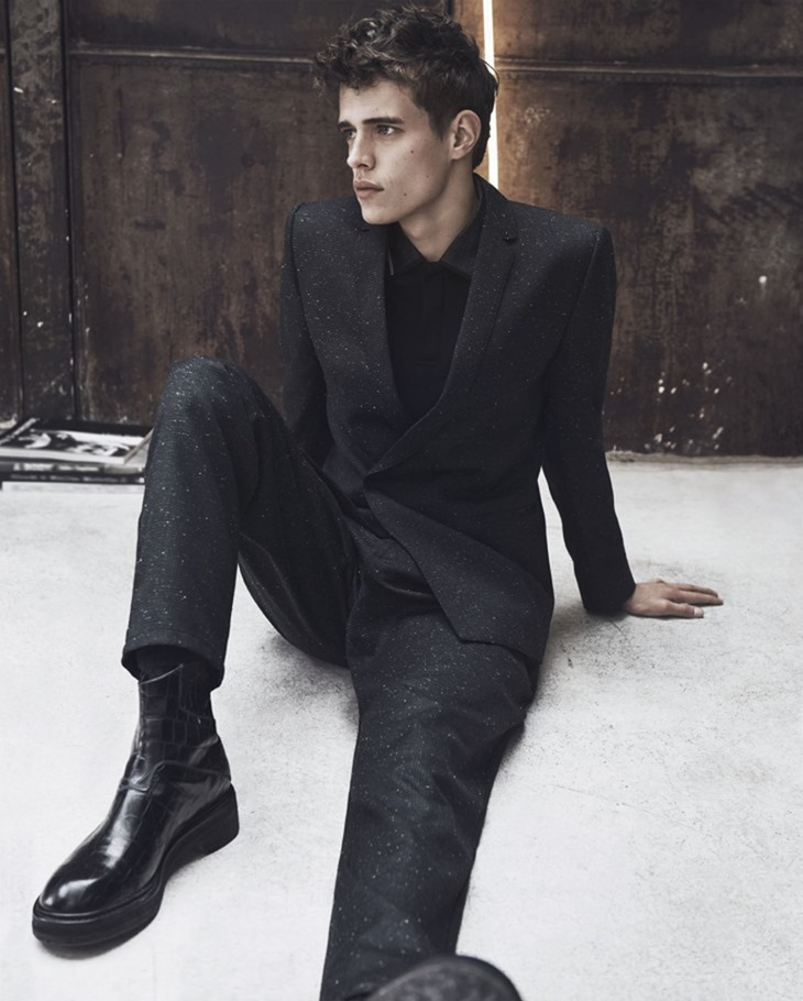 CAMPAIGN Jordy Baan for Emporio Armani Fall 2016 by Lachlan Bailey. Geraldine Saglio, www.imageamplified.com, Image Amplified (4)
