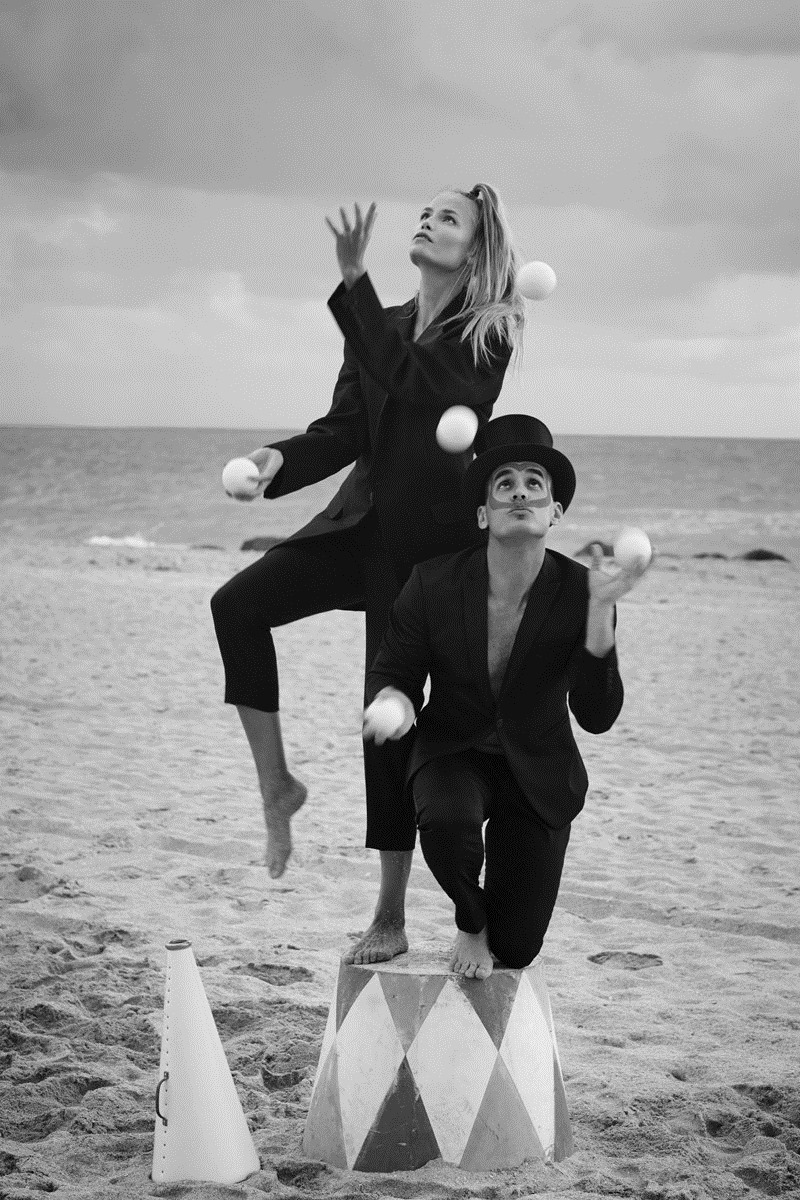 DAILY FRONT ROW Natasha Poly & Jordan Barrett by Sebastian Faena. Paige Redding, December 2016, www.imageamplified.com, Image Amplified5