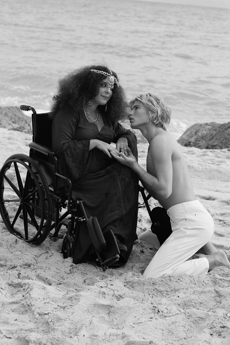 DAILY FRONT ROW Natasha Poly & Jordan Barrett by Sebastian Faena. Paige Redding, December 2016, www.imageamplified.com, Image Amplified6