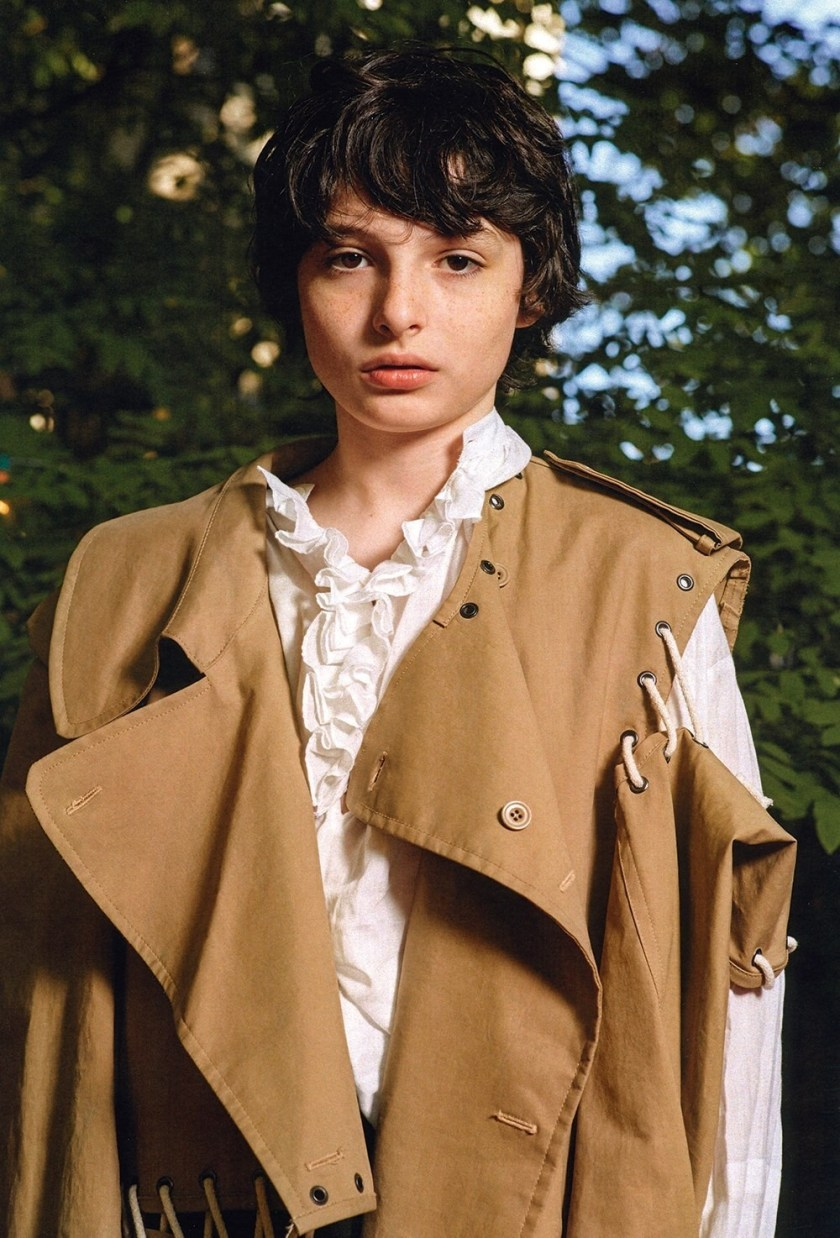 DAZED MAGAZINE Millie Bobby Brown & Finn Wolfhard by Collier Schorr. Robbie Spencer, Fall 2016, www.imageamplified.com, Image Amplified7