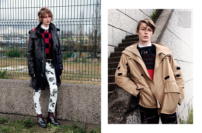 DIOR MAGAZINE Dominik Hahn, Oscar Kindelan & Finnlay Davis by Andreas Larsson. Mattias Karlsson, Fall 2016, www.imageamplified.com, Image Amplified2