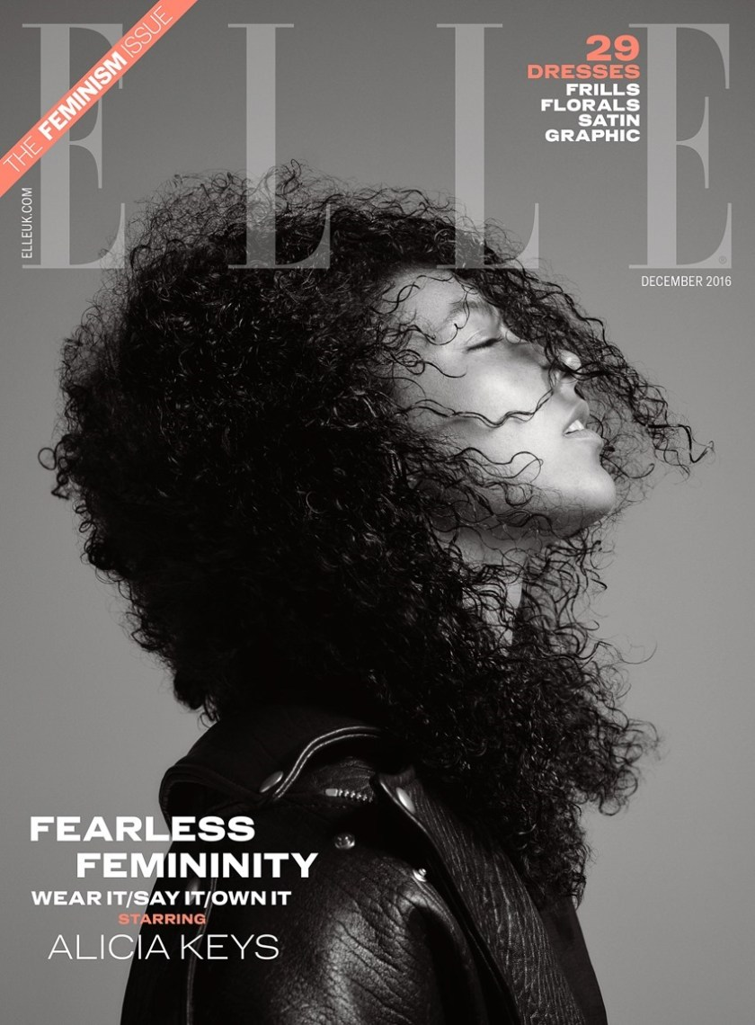 ELLE UK Alicia Keys by Kerry Hallihan. Donna Wallace, December 2016, www.imageamplified.com, Image Amplified1