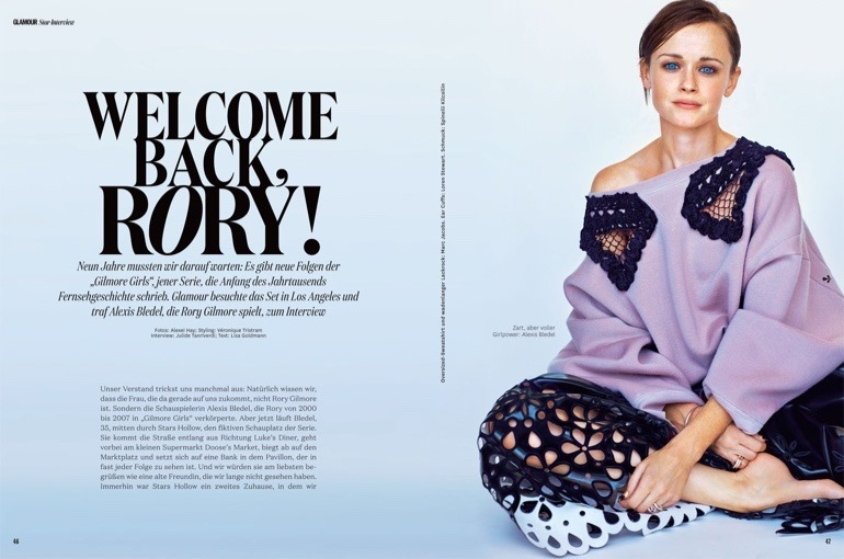 GLAMOUR GERMANY Alexis Bledel by Alexei Hay. Veronique Tristram, December 2016, www.imageamplified.com, Image Amplified2