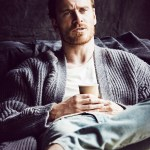 GQ UK: Michael Fassbender by Matthew Brookes