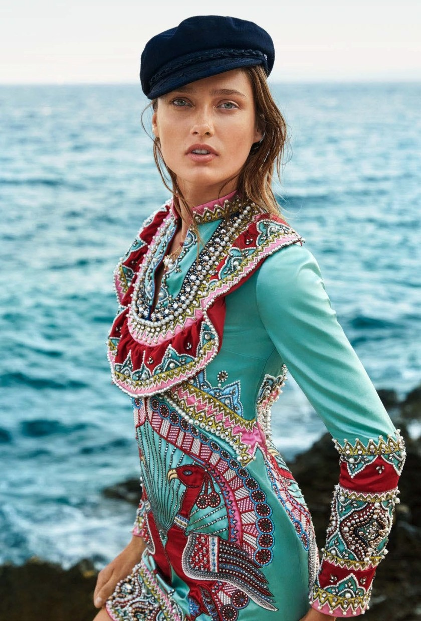 HARPER'S BAZAAR AUSTRALIA Karmen Pedaru by Sylve Colless. Naomi Smith, December 2016, www.imageamplified.com, Image Amplified5