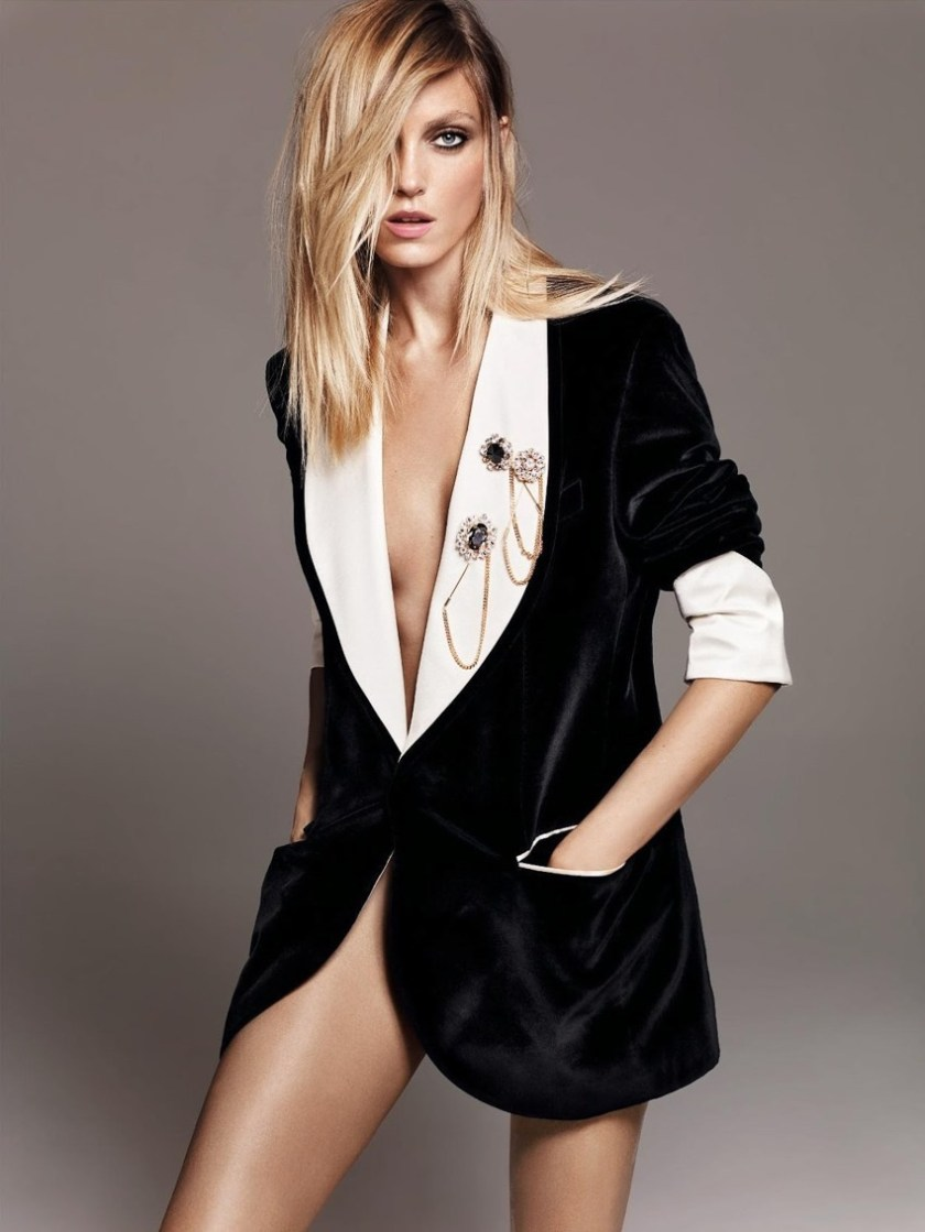 HARPER'S BAZAAR GERMANY Anja Rubik by Terry Tsiolis. Kerstin Schnieder, December 2016, www.imageamplified.com, Image Amplified8