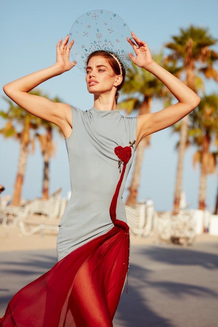 Harpers Bazaar Spain Rianne Ten Haken By Nacho Alegre Image