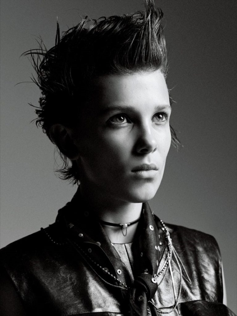INTERVIEW MAGAZINE Millie Bobby Brown by Mikael Jansson. Karl Templer, November 2016, www.imageamplified.com, Image Amplified (7)