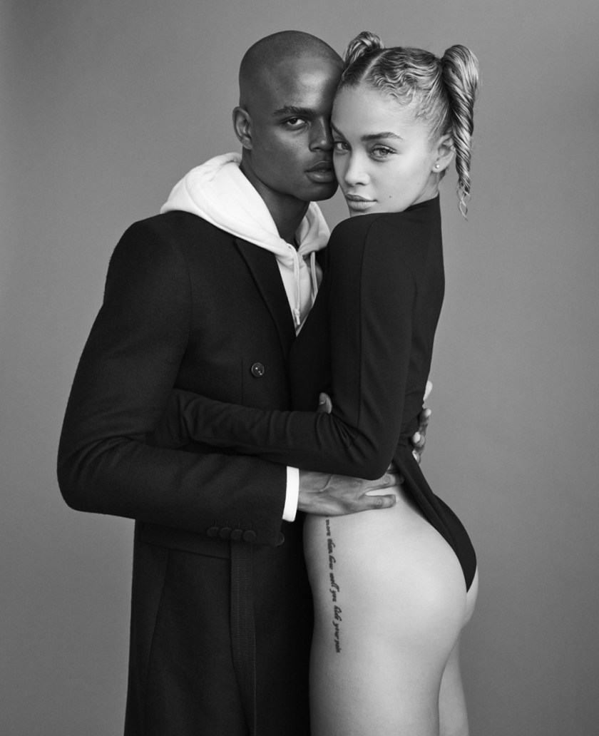 LIU MAGAZINE Jasmine Sanders by Mariano Vivanco. Teddy Czopp, November 2016, www.imageamplified.com, Image Amplified (4)
