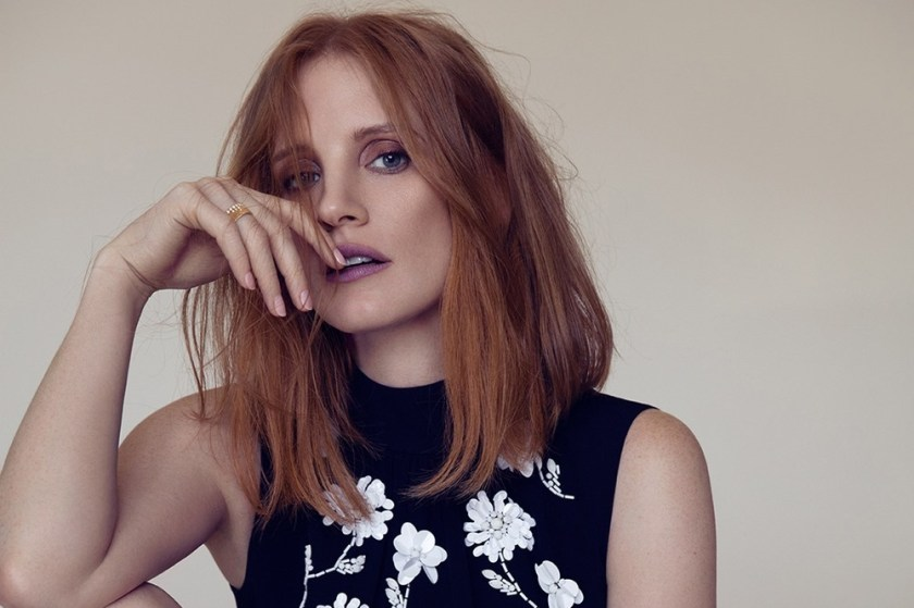 L'OFFICIEL PARIS Jessica Chastain by Dusan Reljin. Enrica Pelosini, November 2016, www.imageamplified.com, Image Amplified1