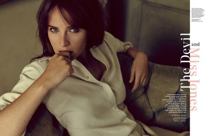 THE HOLLYWOOD REPORTER Felicity Jones by Miller Mobley. October 2016, www.imageamplified.com, Image Amplified2