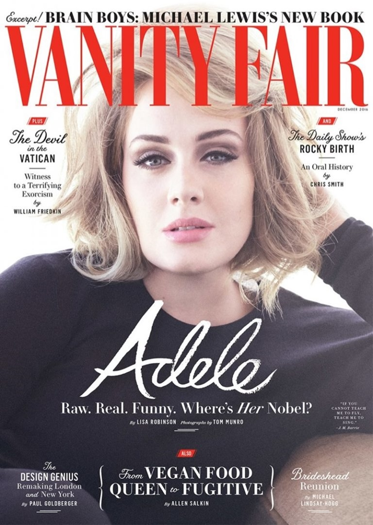 VANITY FAIR MAGAZINE Adele by Tom Munro. Gaelle Paul, December 2016, www.imageamplified.com, image Amplified (8)