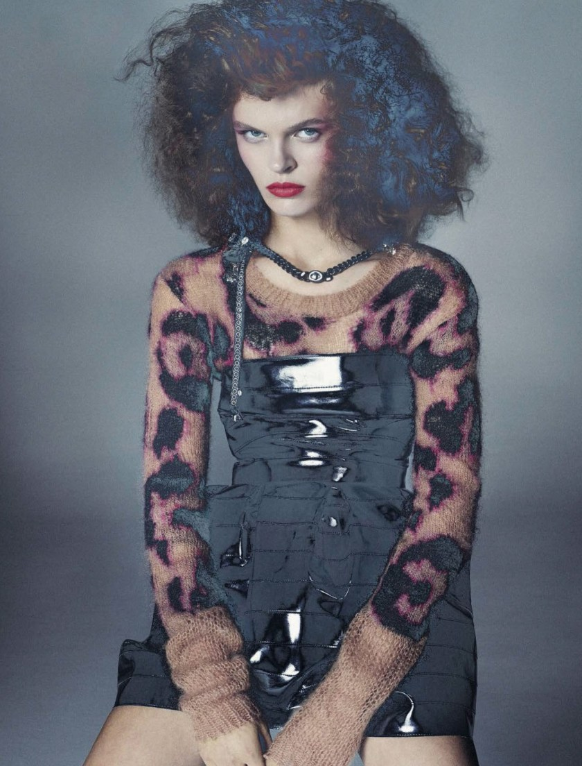 VOGUE ITALIA Free Spirits by Steven Meisel. Karl Templer, November 2016, www.imageamplified.com, Image Amplified8