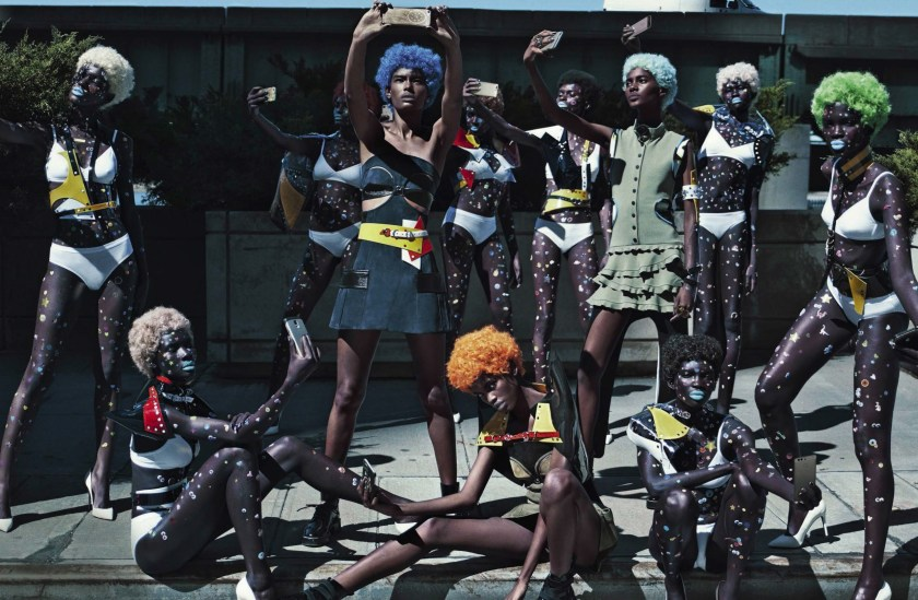 VOGUE ITALIA The Now Squad by Steven Klein. Patti Wilson, November 2016, www.imageamplified.com, Image Amplified3