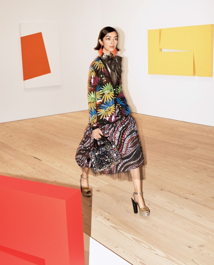 VOGUE MAGAZINE Fei Fei Sun by Josh Olins. Tabitha Simmons, December 2016, www.imageamplified.com, Image Amplified10