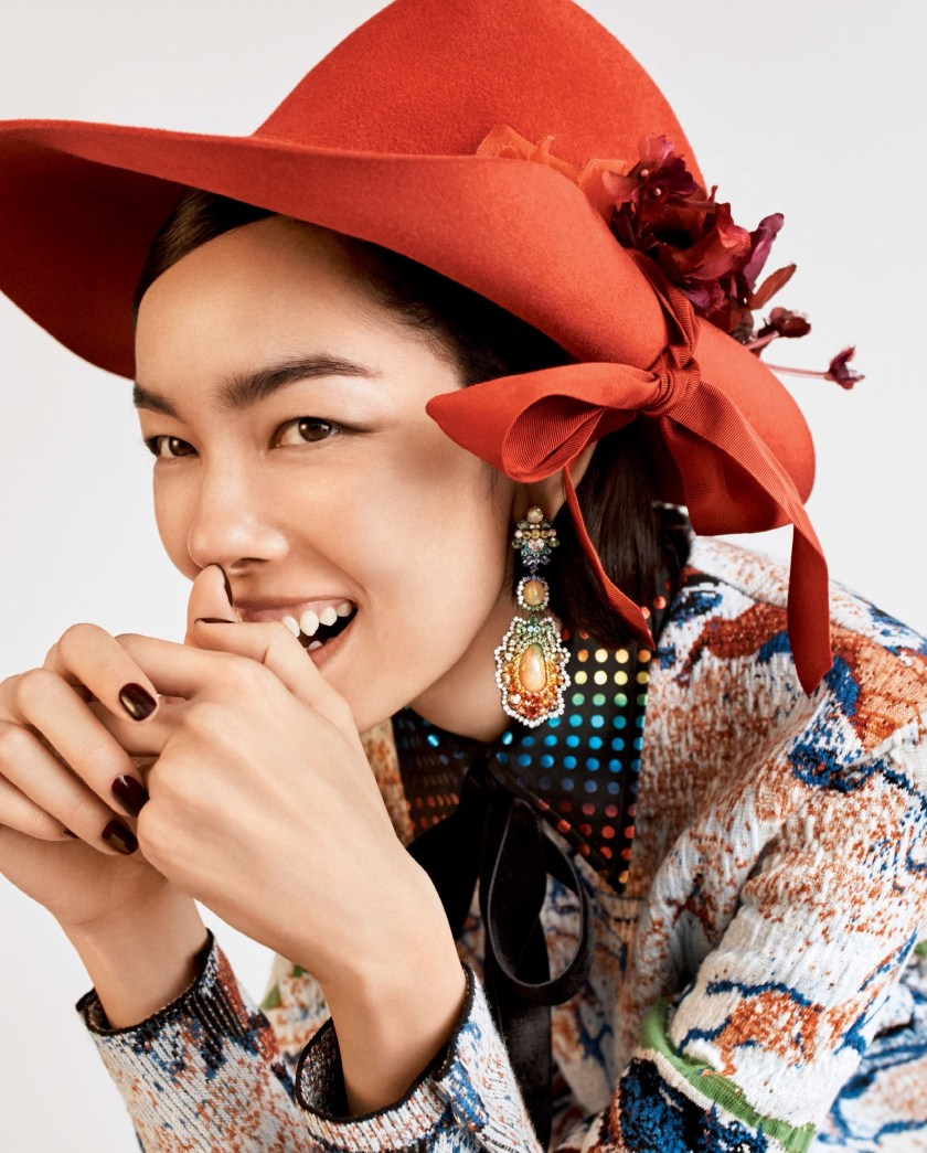 VOGUE MAGAZINE Fei Fei Sun by Josh Olins. Tabitha Simmons, December 2016, www.imageamplified.com, Image Amplified2