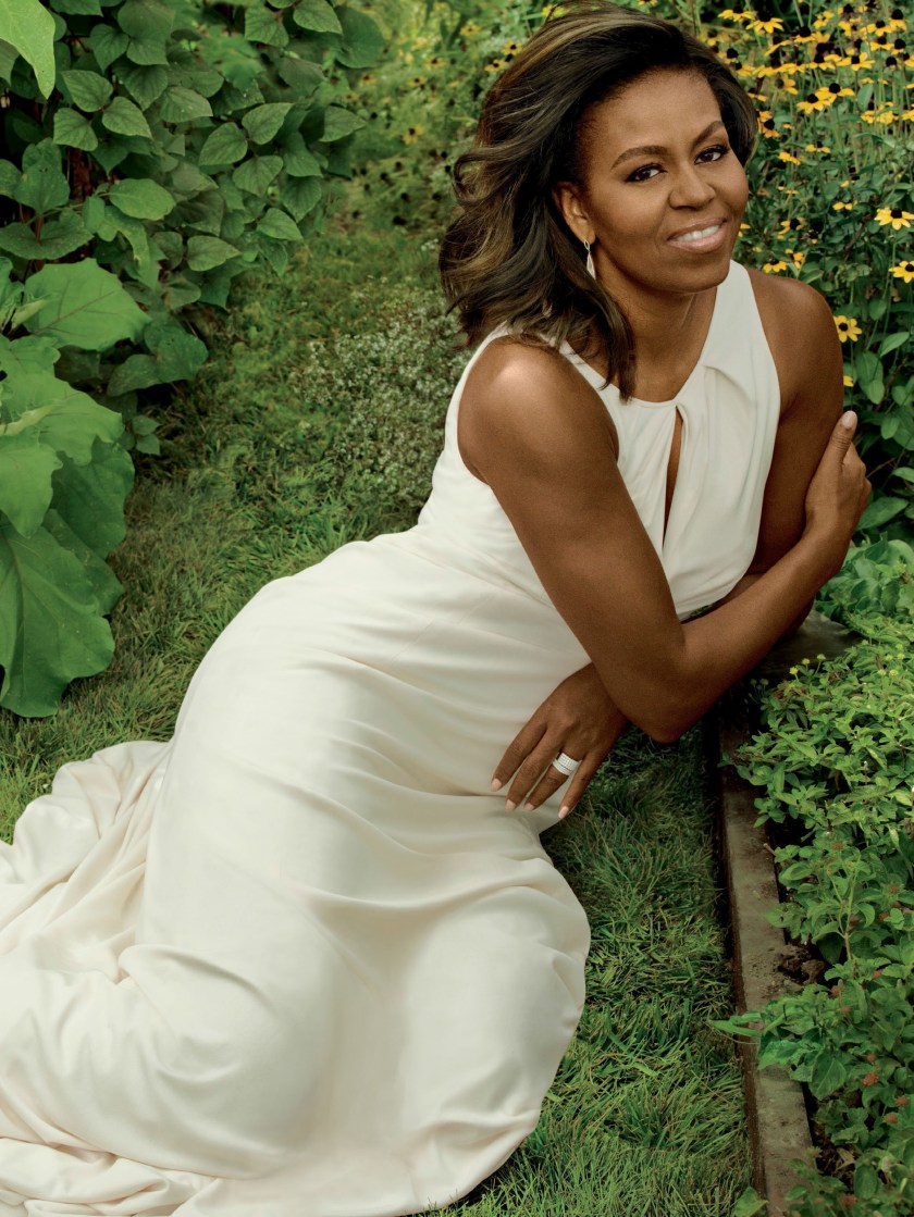 VOGUE MAGAZINE Michelle Obama by Annie Leibovitz. Tonne Goodman, December 2016, www.imageamplified.com, Image Amplified2