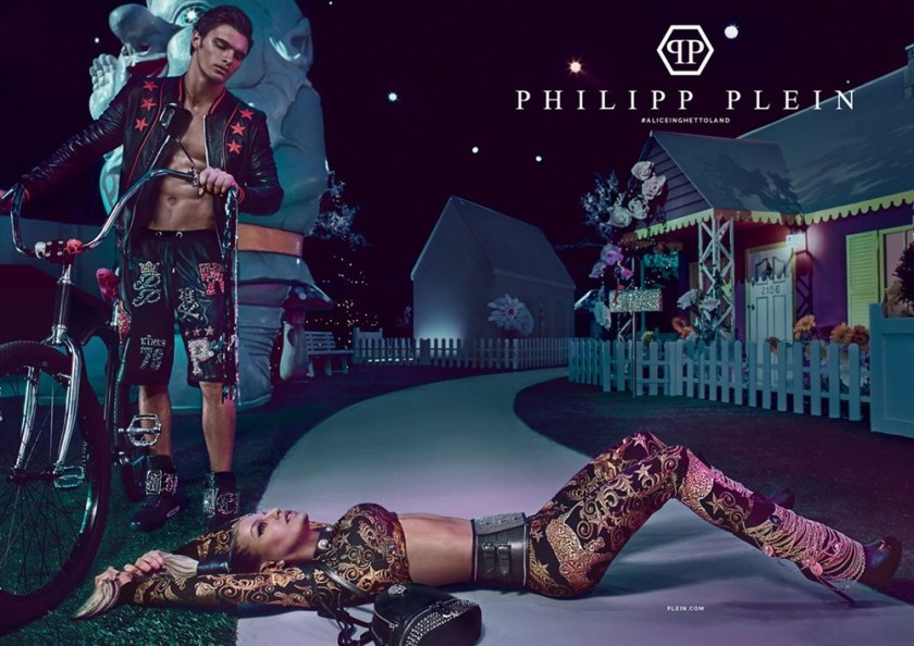 CAMPAIGN Matthew Terry & Fergie for Philipp Plein Spring 2017 by Steven Klein. www.imageamplified.com, Image amplified3