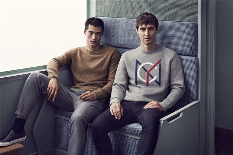 CAMPAIGN Sebastien Andrieu & Hao Yun Xiang for H&M Winter 2016 by Mikael Jansson. Ludivine Poiblanc, www.imageamplified.com, Image amplified5