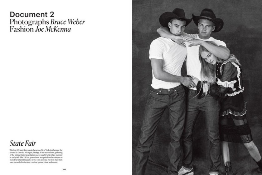 DOCUMENT JOURNAL Jean Campbell, Justin Petzschke & Mitchell Slaggert by Bruce Weber. Joe McKenna, Fall 2016, www.imageamplified.com, Image amplified3