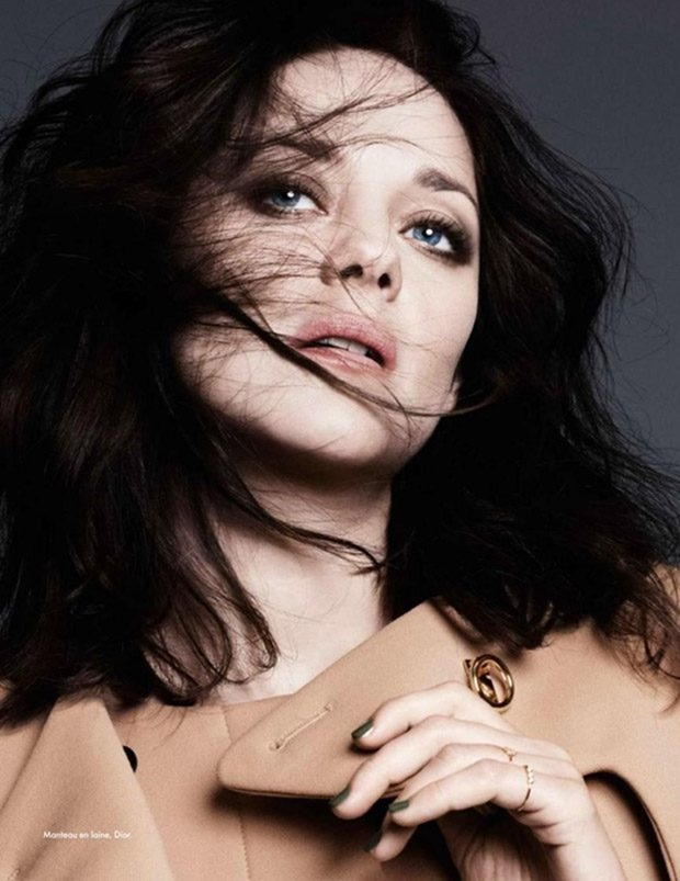 ELLE FRANCE Mario Cotillard by Ben hassett. Georgia Pendlebury, December 2016, www.imageamplified.com, Image Amplified2