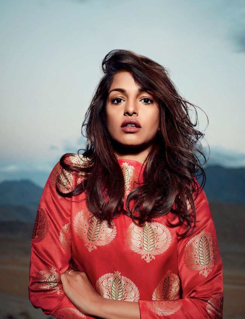 ELLE INDIA M.I.A. by Colton Julian. Nidhi Jacob, December 2016, www.imageamplified.com, image Amplified1