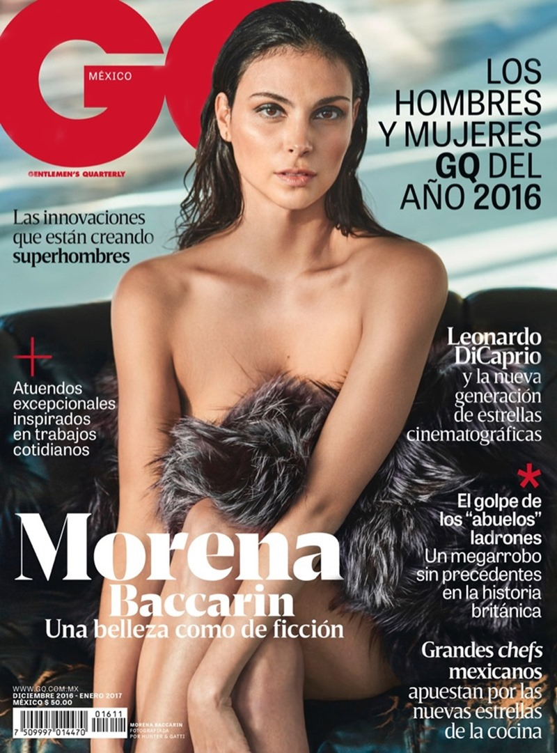 GQ MEXICO Morena Baccarin by Hunter & Gatti. Helena Yarmuk, December 2016, www.imageamplified.com, Image Amplified1