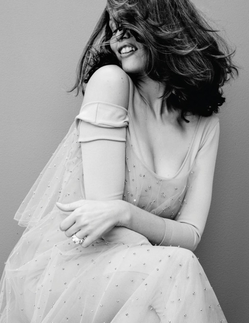GRAZIA FRANCE Laetitia Casta by Nik Hartley. Marine Chaumien, December 2016, www.imageamplified.comm, Image Amplified5