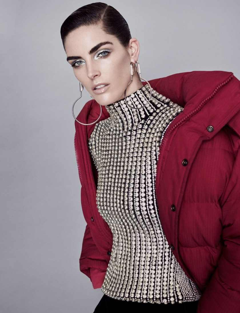 HARPER'S BAZAAR KAZAKHSTAN Hilary Rhoda by Zoey Grossman. Anna Katsanis, December 2016, www.imageamplified.com, Image Amplified7
