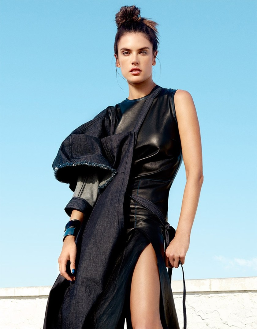 HARPER'S BAZAAR SINGAPORE Alessandra Ambrosio by Yu Tsai. Martina Nilsson, January 2017, www.imageamplified.com, image Amplified6