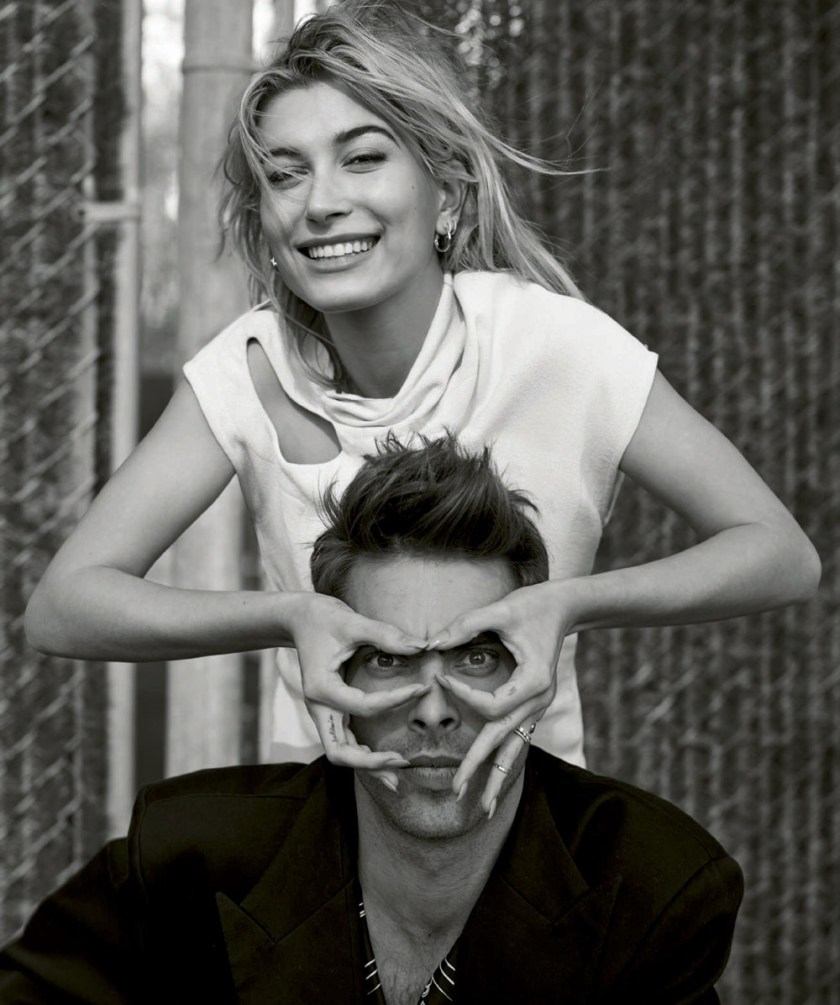 HARPER'S BAZAAR SPAIN Hailey Baldwin & Jon Kortajarena by Thomas Whiteside. Juan Cebrian, January 2017, www.imageamplified.com, Image amplified19