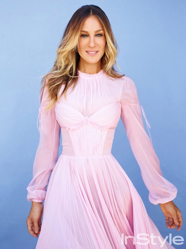 INSTYLE MAGAZINE Sarah Jessica Parker by Thomas Whiteside. Ali Pew, January 2017, www.imageamplified.com, Image Amplified2