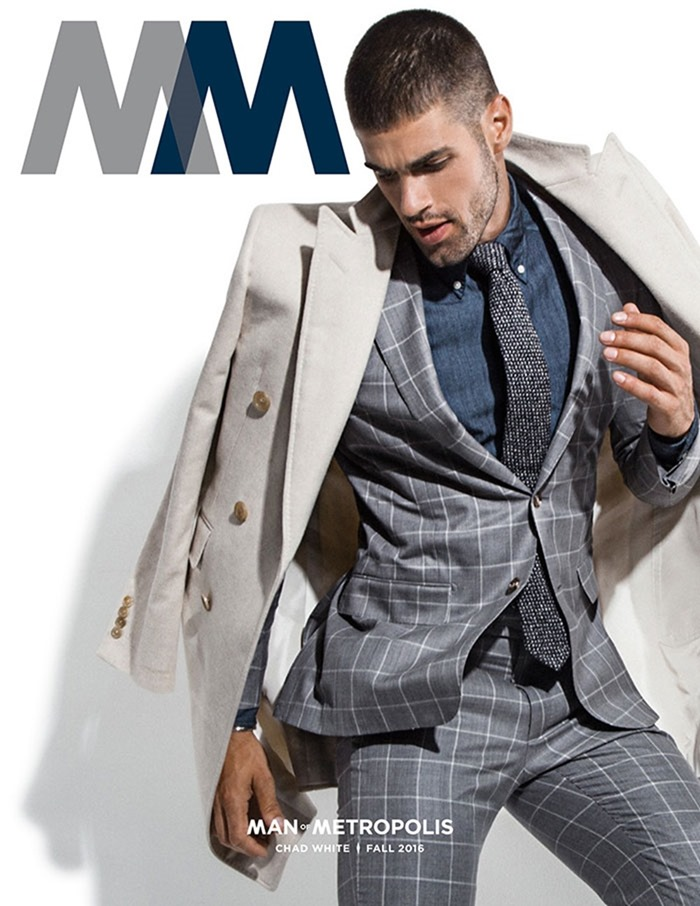 MAN OF METROPOLIS MAGAZINE Chad White by Rick Day. Fall 2016, www.imageamplified.com, Image Amplified17