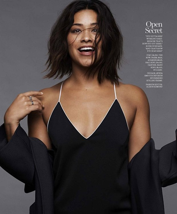 MARIE CLAIRE MAGAZINE Gina Rodriguez by Jan Welters. Alison Edmond, January 2017, www.imageamplified.com, Image Amplified3