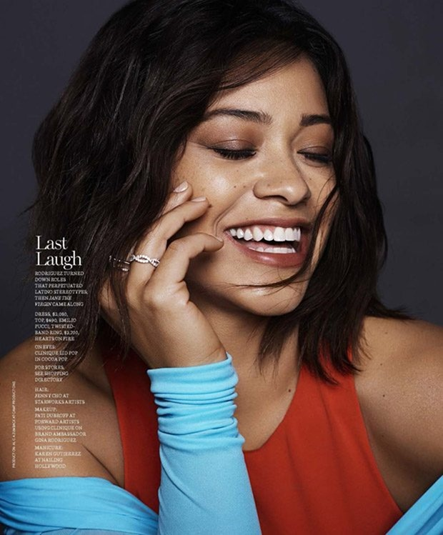 MARIE CLAIRE MAGAZINE Gina Rodriguez by Jan Welters. Alison Edmond, January 2017, www.imageamplified.com, Image Amplified4