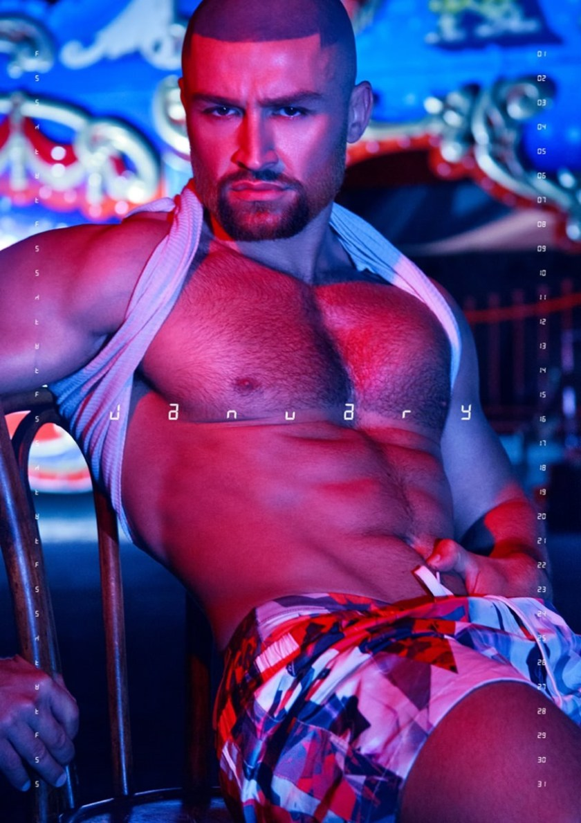 MASCULINE DOSAGE Francois Sagat by Exterface. Fall 2016, www.imageamplified.com, image amplified1