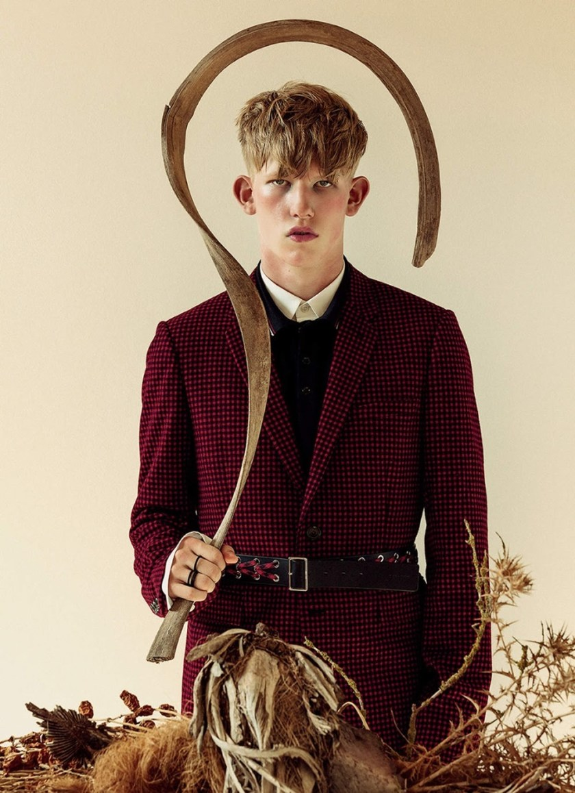 METAL MAGAZINE Connor Newall by Teddy Iborra Wicksteed. Fall 2016, www.imageamplified.com, Image Amplified10