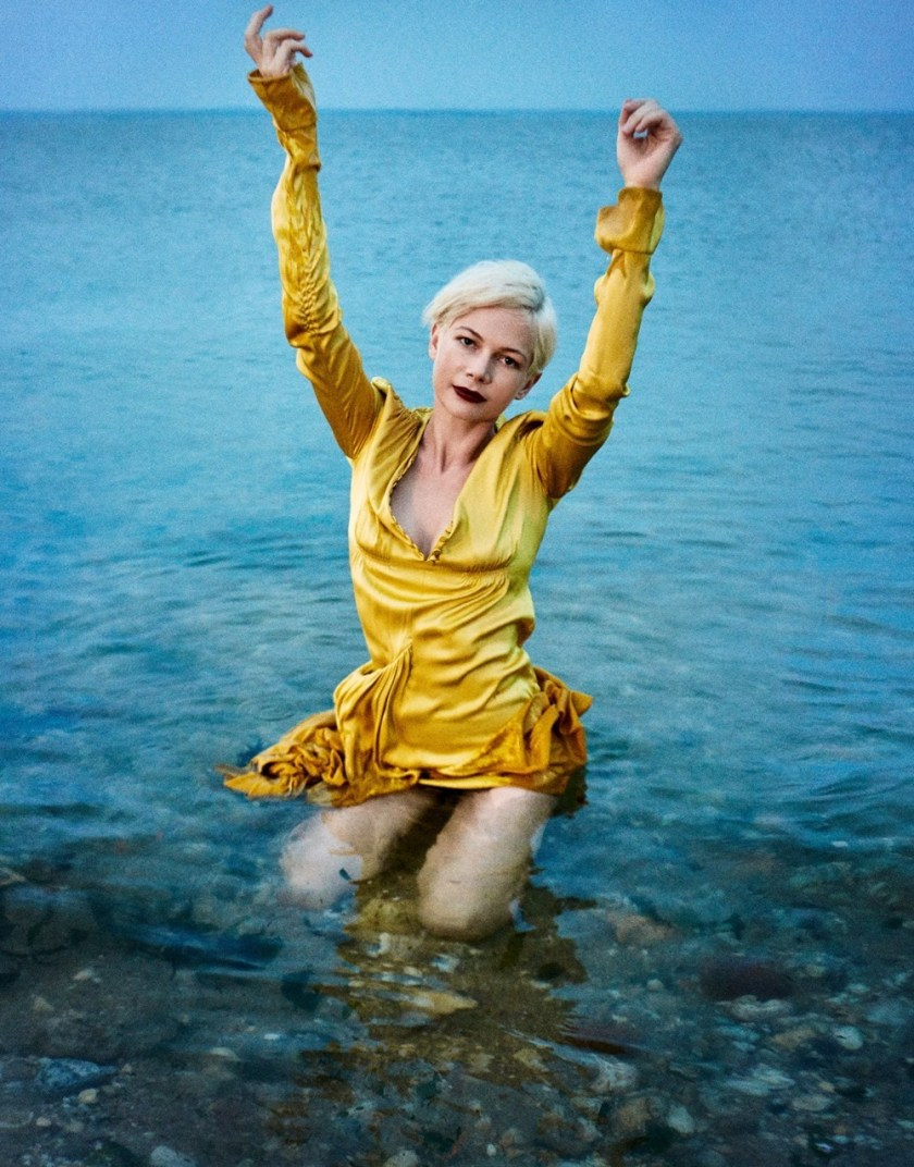 PORTER MAGAZINE Michelle Williams by Ryan McGinley. Kate Young, Fall 2016, www.imageamplified.com, Image Amplified20