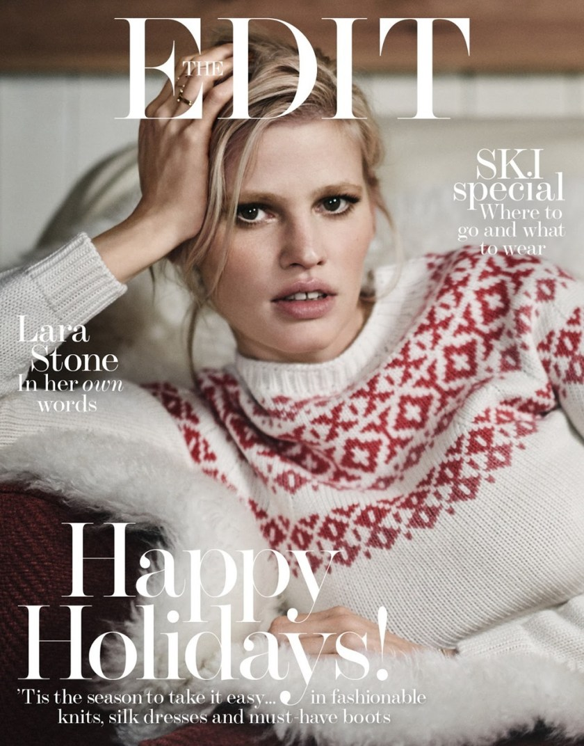 THE EDIT Lara Stone by Boo George. Cathy Kasterine, December 2016, www.imageamplified.com, Image Amplified1