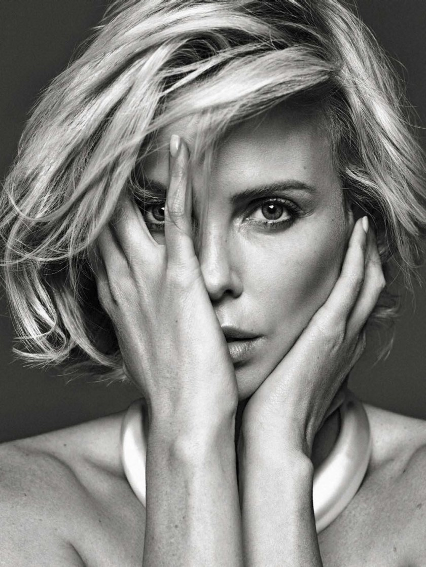 VANITY FAIR ITALIA Charlize Theron by Alique. Leslie Freman, November 2016, www.imageamplified.com, image Amplified2